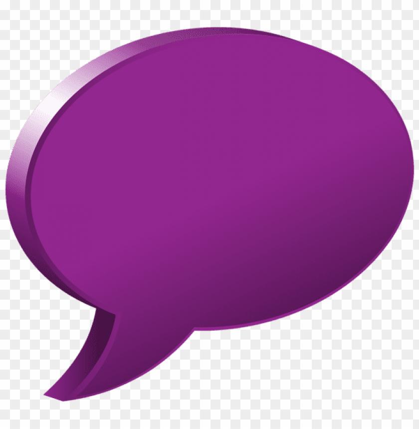 free PNG Download speech bubble purple clipart png photo   PNG images transparent