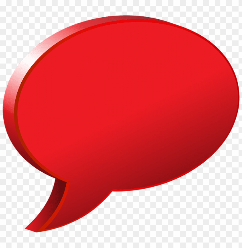 free PNG Download speech bubble red clipart png photo   PNG images transparent