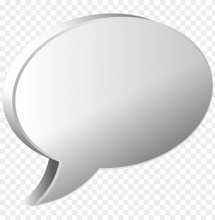 Download speech bubble white clipart png photo  @toppng.com