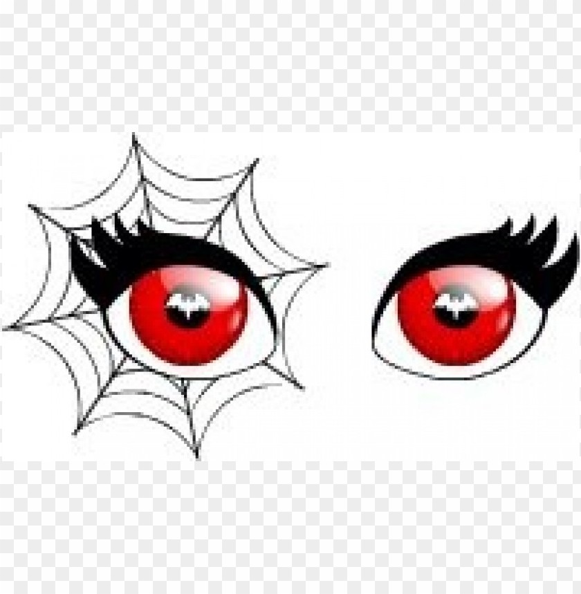free PNG spellbound web eyes red png - Free PNG Images PNG images transparent