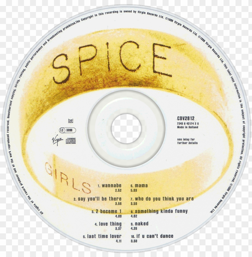 free PNG spice girls cd PNG image with transparent background PNG images transparent