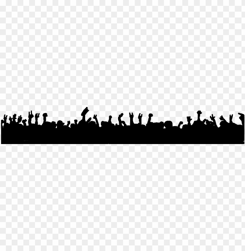 free PNG spider-man concert crowd drawing - concert crowd silhouette PNG image with transparent background PNG images transparent
