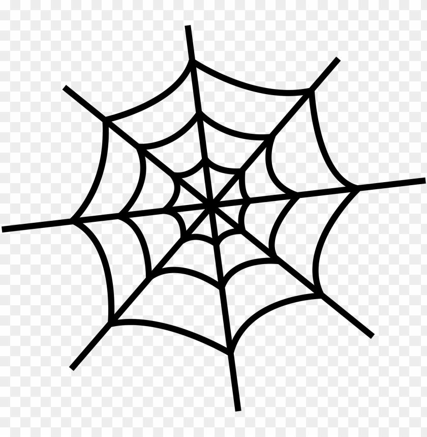 free PNG spider, spider web, royaltyfree, line art, plant png - simple spider web drawi PNG image with transparent background PNG images transparent