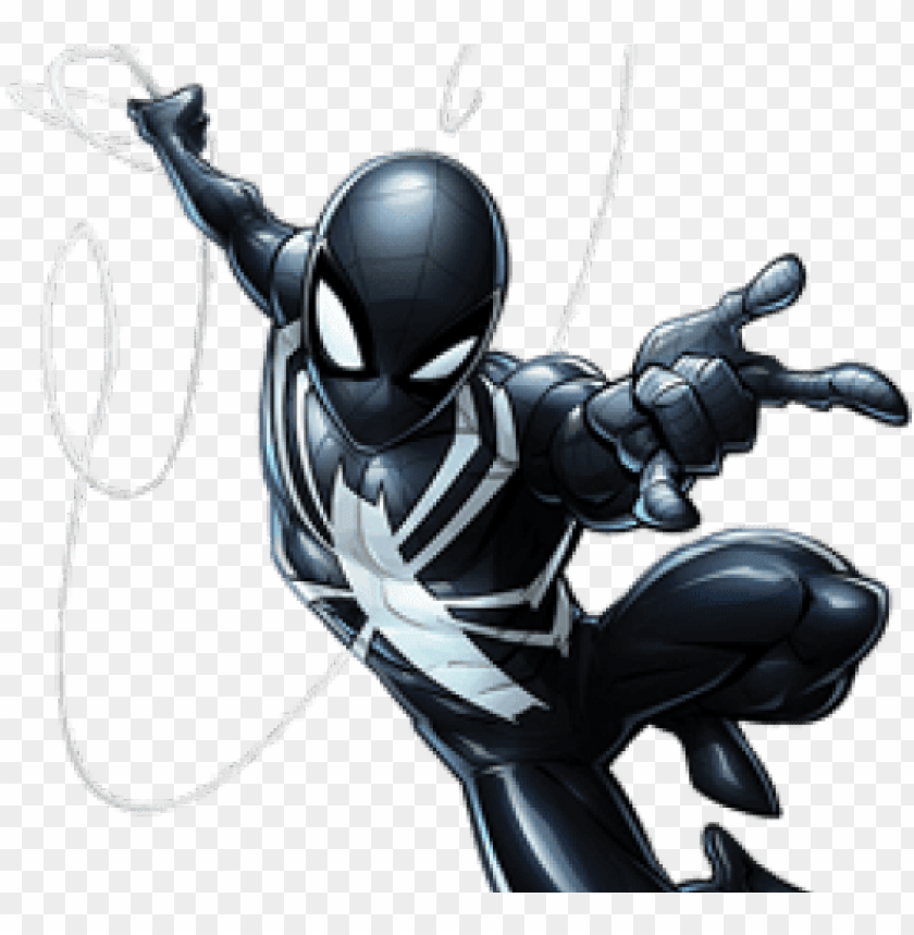 free PNG spiderman clipart peter parker - marvel's spider man symbiote PNG image with transparent background PNG images transparent
