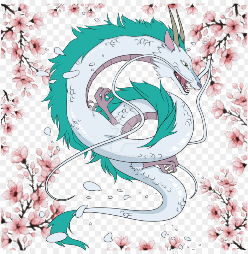 free PNG spiritedaway haku anime png sakuraflower anime studiogh PNG image with transparent background PNG images transparent