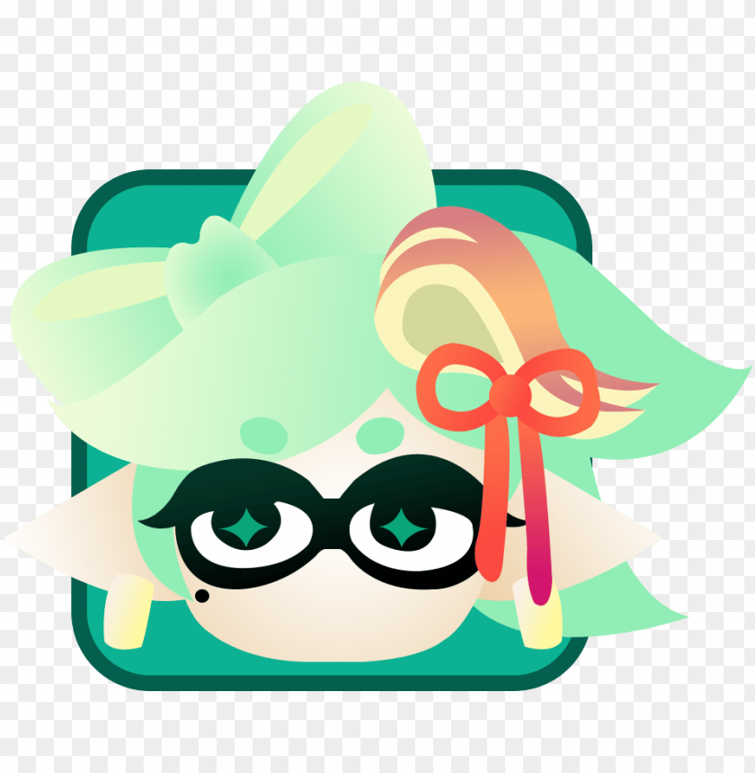 Splatoon 2 Marina Icon Png Image With Transparent Background
