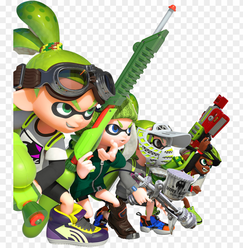 Splatoon Png Splatoon Team Png Image With Transparent