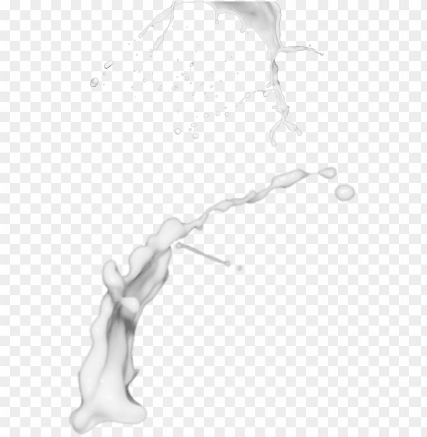 free PNG splatter vector milk - milk splash transparent PNG image with transparent background PNG images transparent