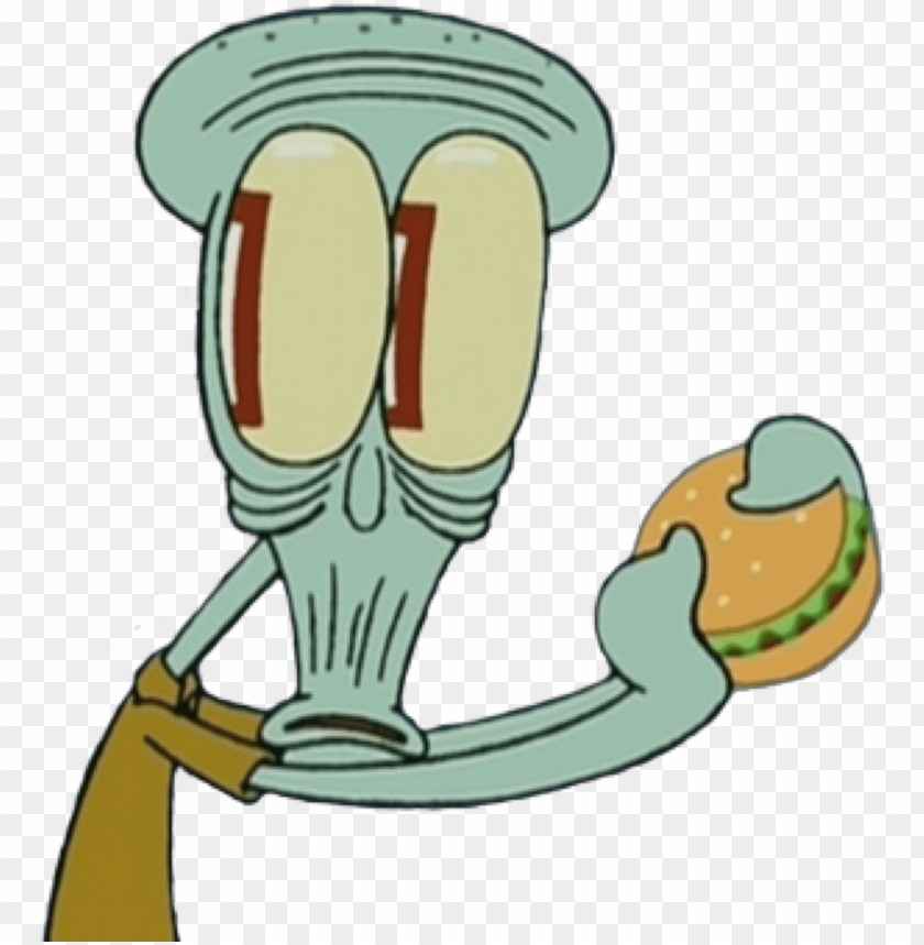 free PNG spongebob squidward mood reaction face shocked cartoon - squidward tentacles PNG image with transparent background PNG images transparent