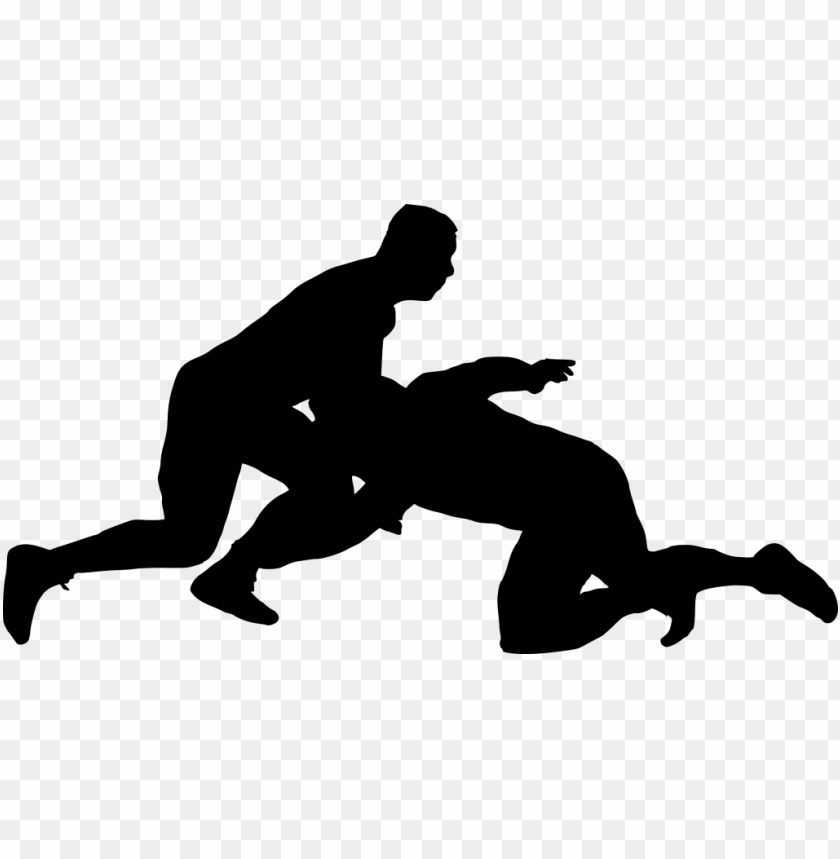 free PNG sport wrestling silhouette png - Free PNG Images PNG images transparent