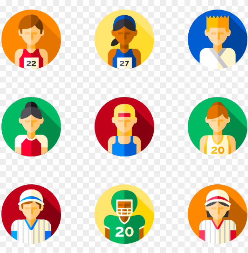 free PNG sports avatars - symbol PNG image with transparent background PNG images transparent
