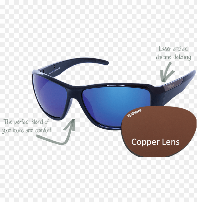 free PNG spotters sunglasses vector gloss black frame with copper - sunglasses PNG image with transparent background PNG images transparent