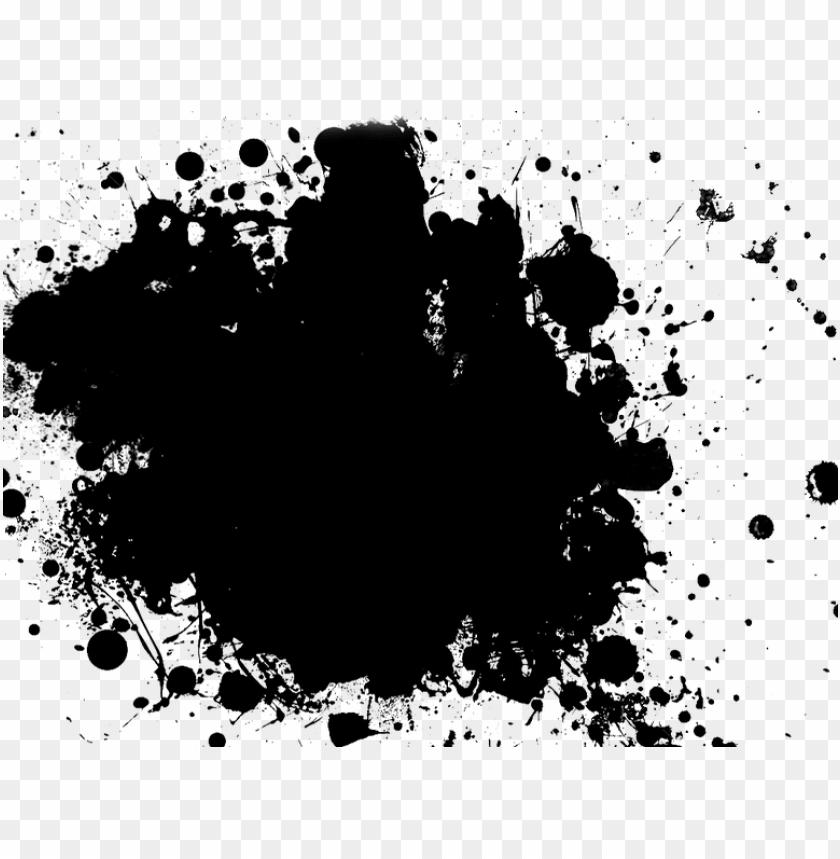 free PNG spray paint splatter png gowj gc splatter pngspray - black paint splatter PNG image with transparent background PNG images transparent