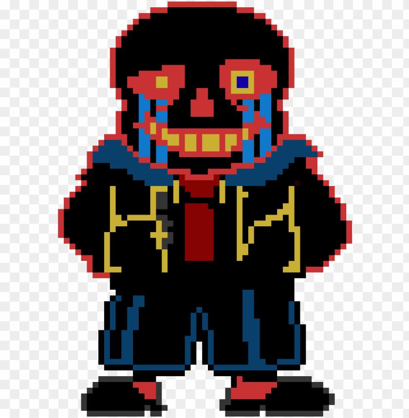 Sprite Pixel Art Maker Error Sans Pixel Art Png Image With