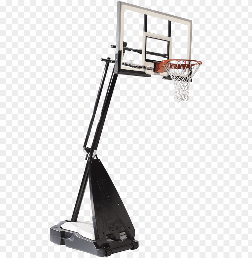 free PNG srg on pinterest - spalding 60 inch acrylic hybrid basketball system PNG image with transparent background PNG images transparent
