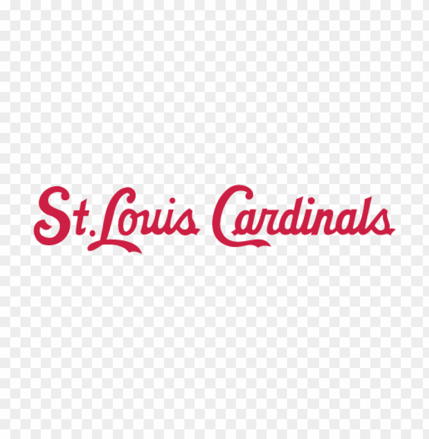 free PNG st. louis cardinals logo vector PNG images transparent