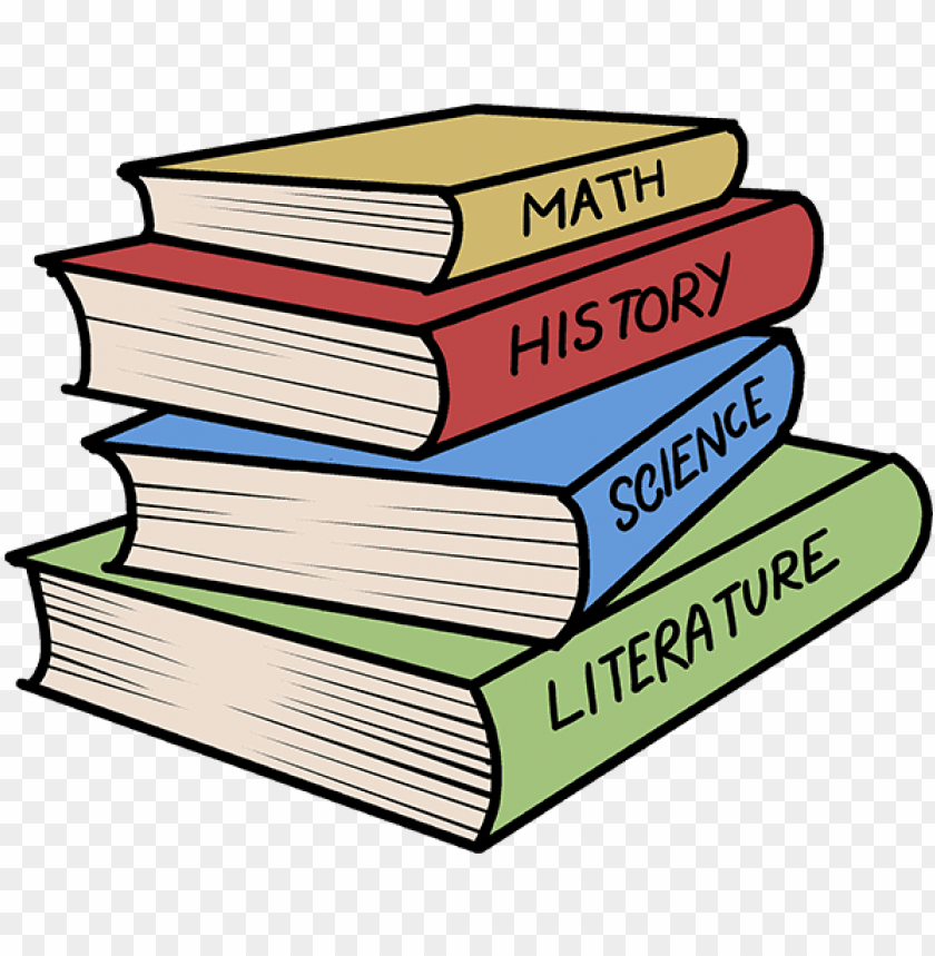free PNG stack of books drawing easy PNG image with transparent background PNG images transparent