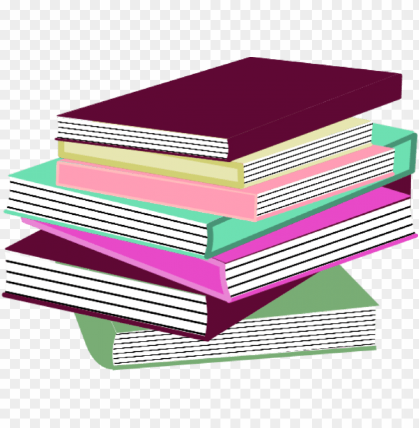 free PNG stack of books pink PNG image with transparent background PNG images transparent