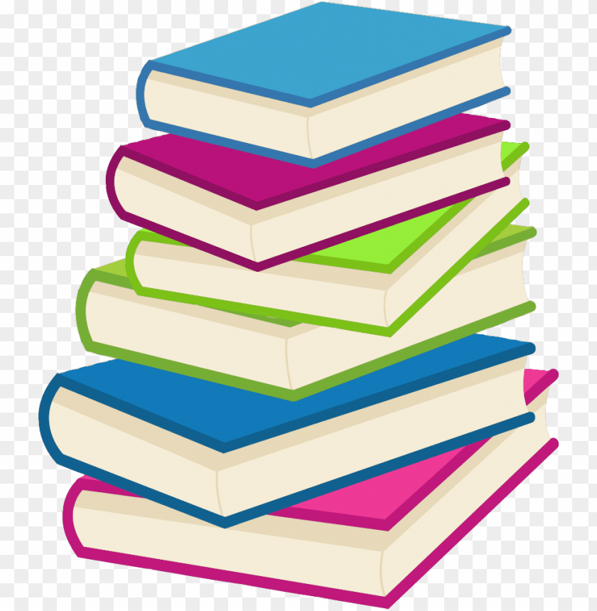 free PNG stack of books vector - stack of books sv PNG image with transparent background PNG images transparent