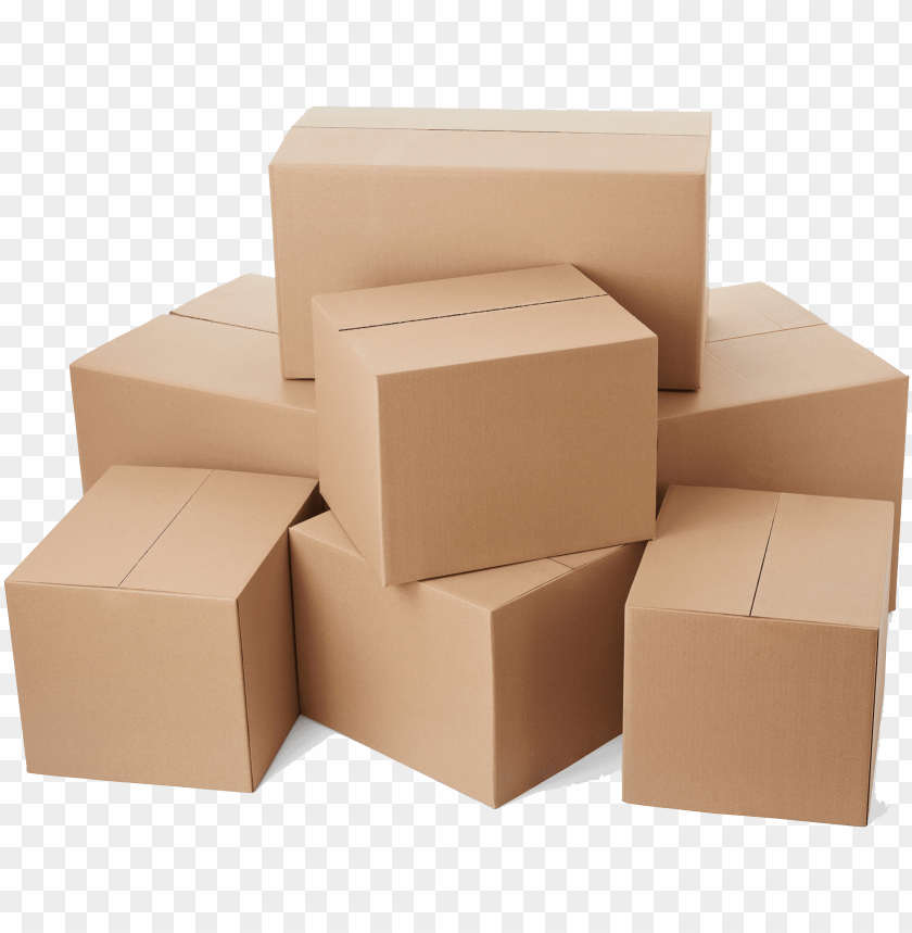free PNG stacked boxes  - corrugated boxes png - Free PNG Images PNG images transparent