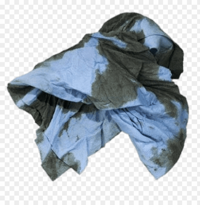 free PNG stained blue rag PNG image with transparent background PNG images transparent