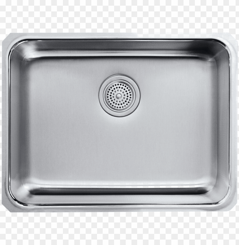 Stainless Steel Kitchen Sink Png Image