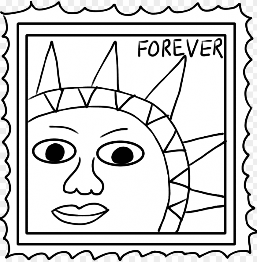 free PNG stamp clipart black and white - black & white picture clipart of stam PNG image with transparent background PNG images transparent