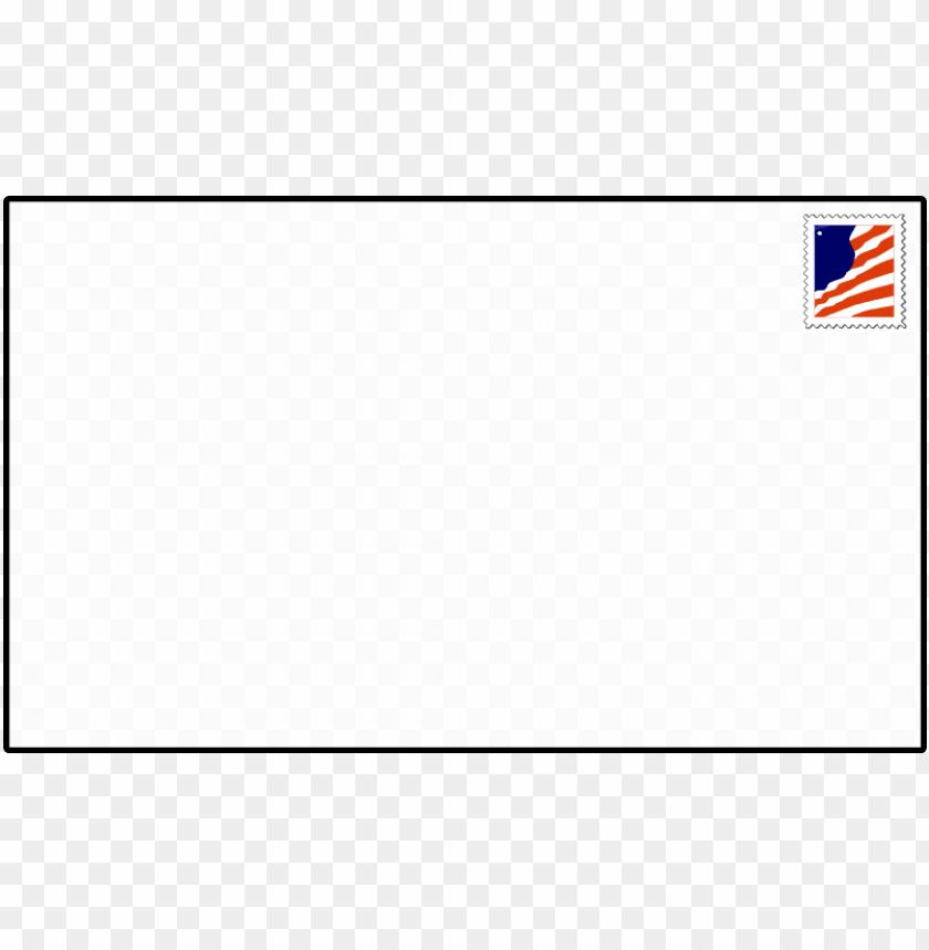 free PNG stamped envelope clipart - envelope front clip art PNG image with transparent background PNG images transparent