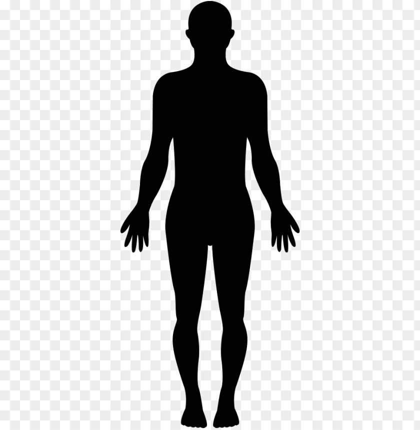 free PNG standing human body silhouette - silhouette of a girl standi PNG image with transparent background PNG images transparent