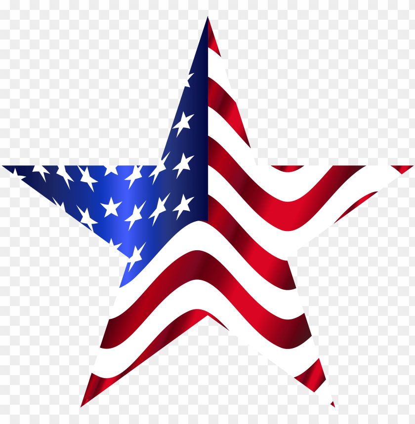 free PNG star american flag - star with american fla PNG image with transparent background PNG images transparent