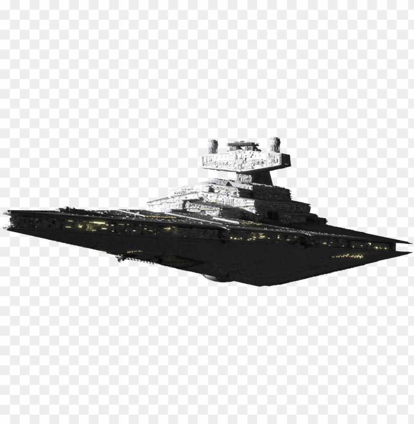 free PNG star destroyer clipart - star wars star destroyer PNG image with transparent background PNG images transparent