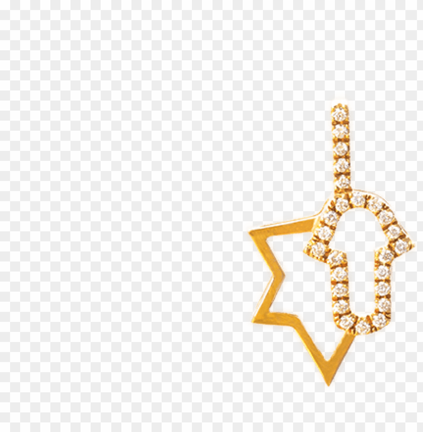 free PNG star of david and hamsa pendant - chai PNG image with transparent background PNG images transparent