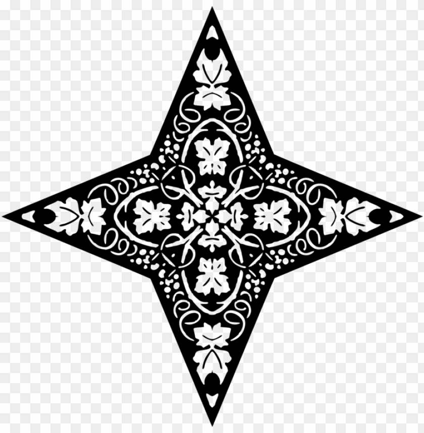 free PNG star polygons in art and culture black and white drawing - triangle PNG image with transparent background PNG images transparent
