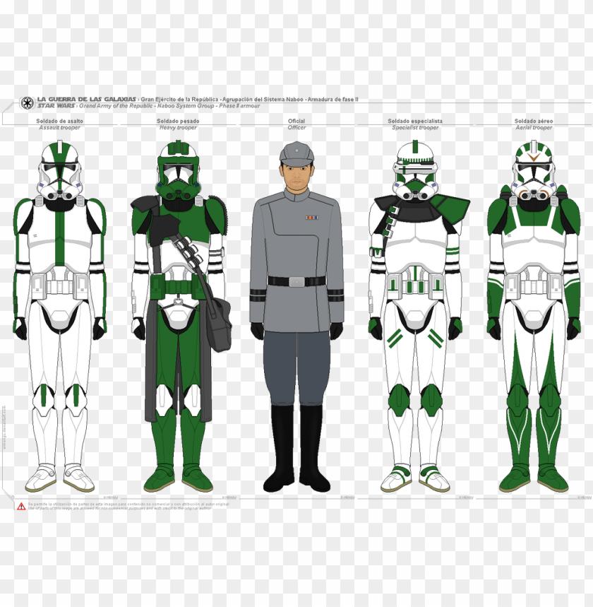 free PNG star wars battlefront ii kashyyyk clone troopers by - star wars battlefront 2 kashyyyk clones PNG image with transparent background PNG images transparent