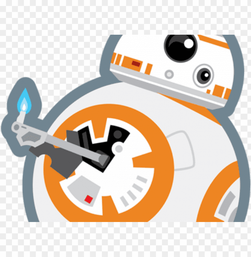free PNG star wars clipart bb8 - star wars bb8 clipart PNG image with transparent background PNG images transparent