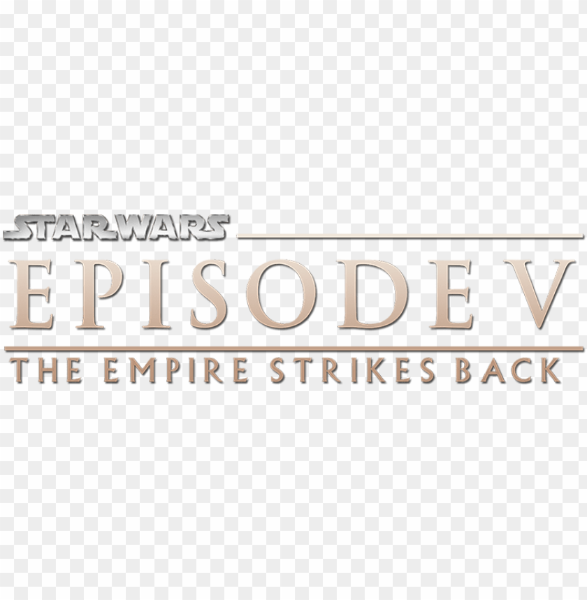 free PNG star wars episode v alternate logo - star wars episode i the phantom menace logo PNG image with transparent background PNG images transparent
