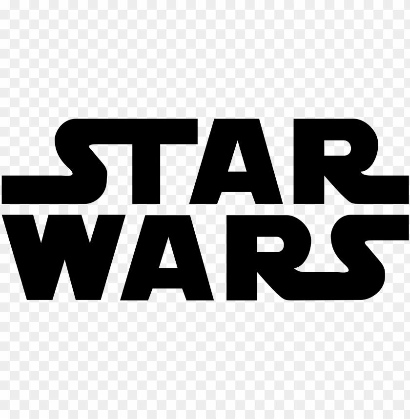 Star Wars Logo Png Transparent Logo De Star Wars Png Image With Transparent Background Toppng