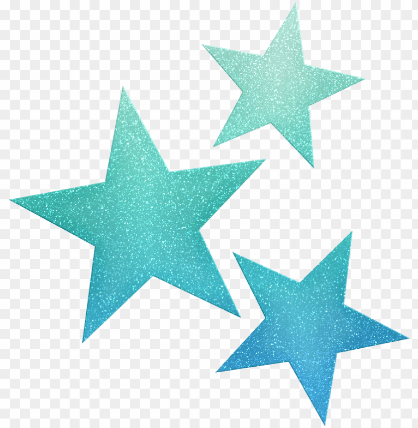free PNG stars ‿✿⁀°○ star clipart, cute clipart - blue glitter star PNG image with transparent background PNG images transparent