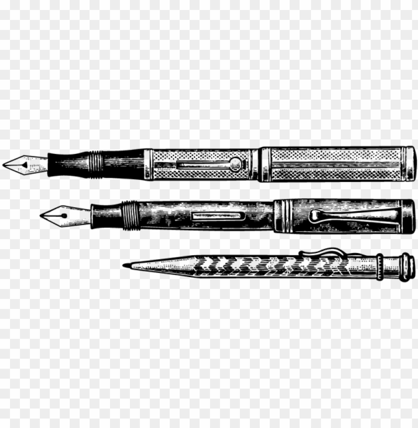 free PNG stationery fountain pen drawing nib - fountain pen & nib sketch PNG image with transparent background PNG images transparent