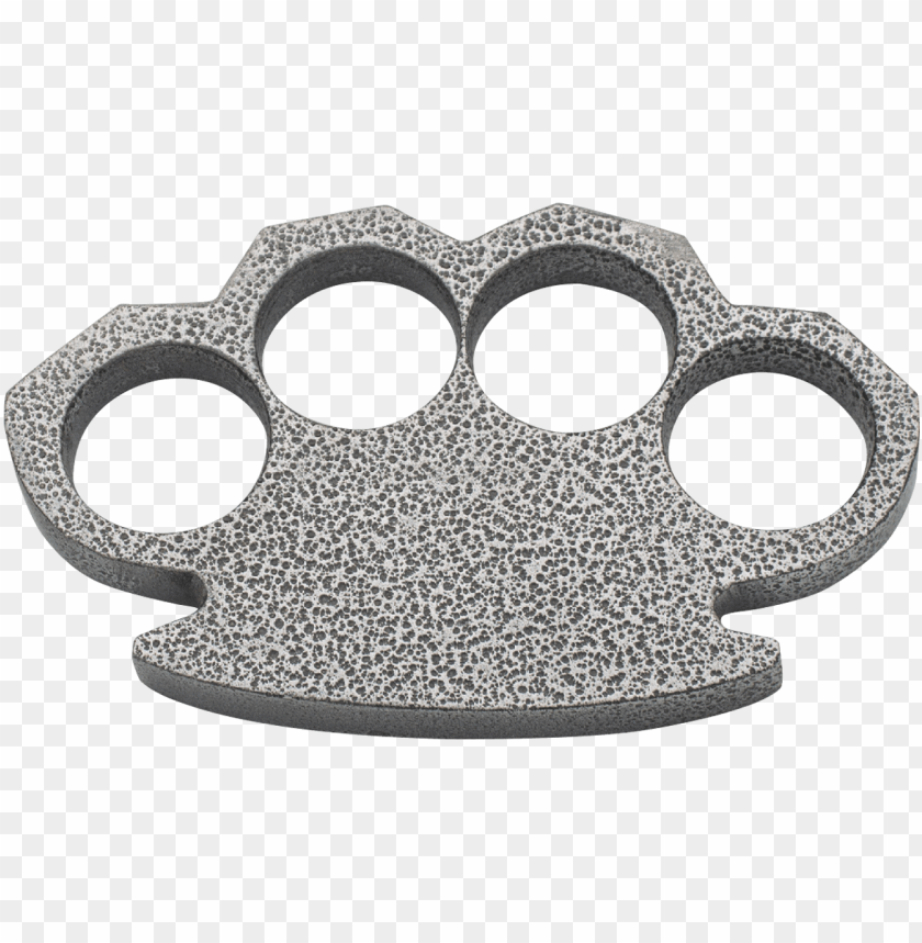 free PNG steam punk compact gray aluminum paper weight - brass knuckles PNG image with transparent background PNG images transparent