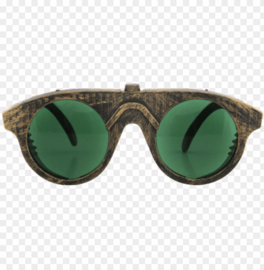 free PNG steampunk glasses - steampunk glasses (gold & green) PNG image with transparent background PNG images transparent