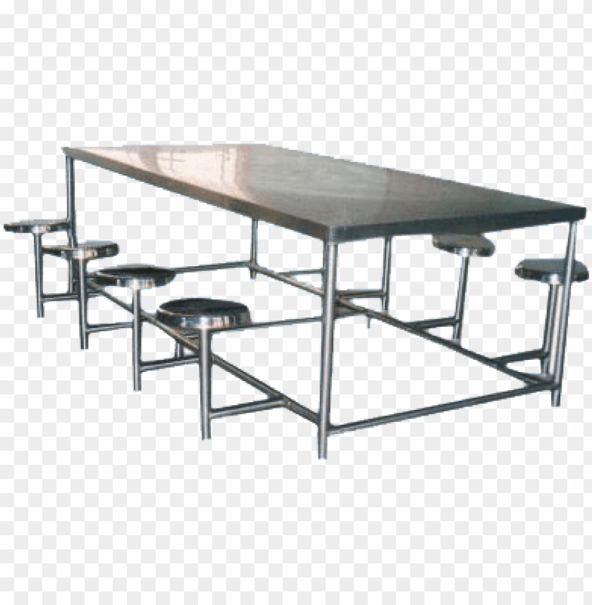 free PNG steel dining table - steel furniture dining table PNG image with transparent background PNG images transparent