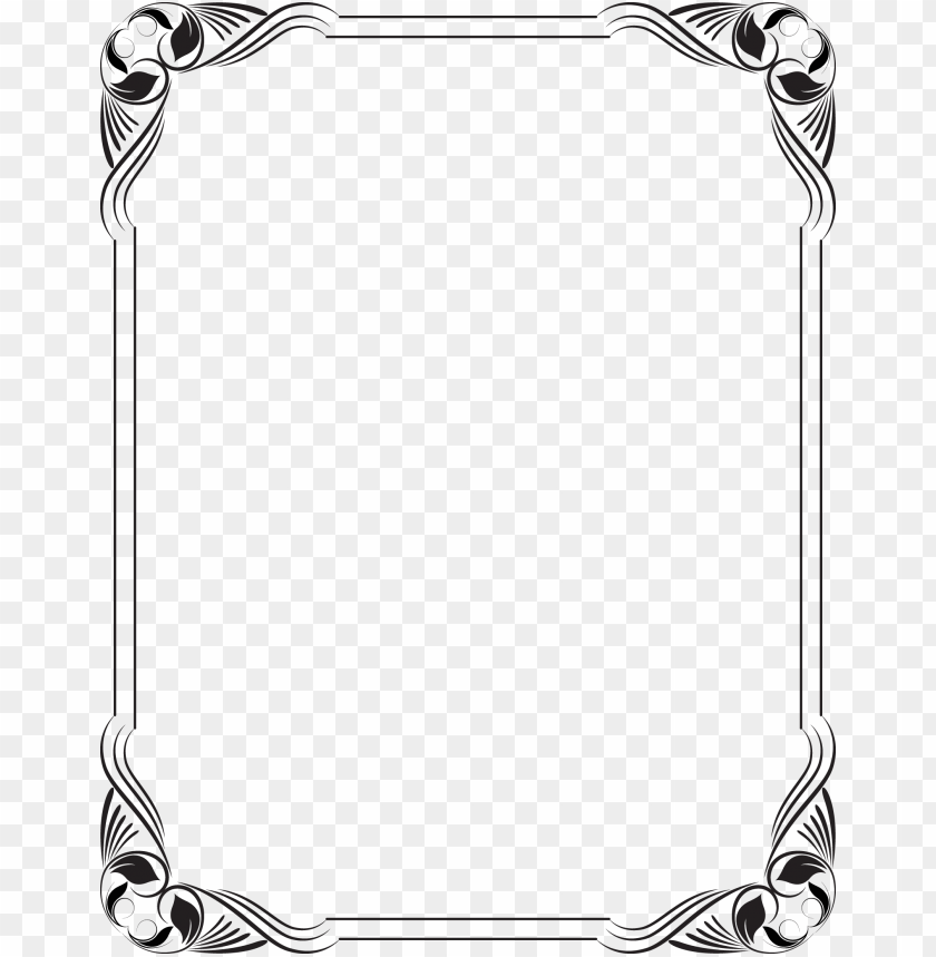 free PNG stencil borders for paper, borders and frames, frame - black and white frame borders desi PNG image with transparent background PNG images transparent