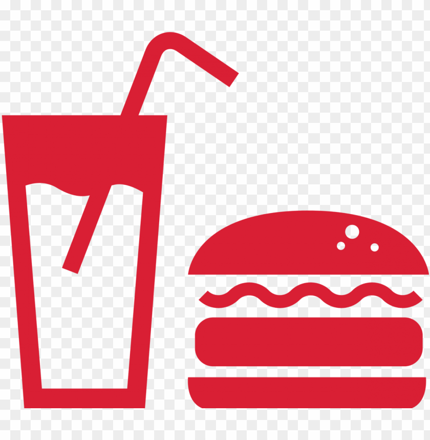 free PNG stencil templates, stencils, food icons, pictogram, - fast food icon red png - Free PNG Images PNG images transparent