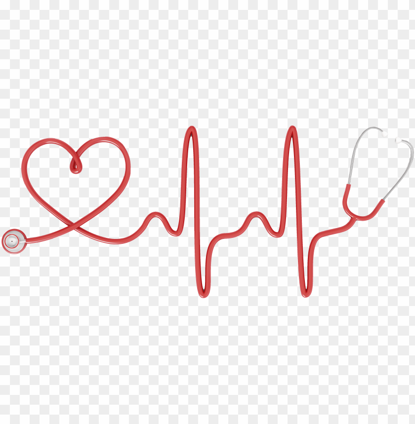 Stethoscope Heart Electrocardiography Nursing Clip Nursing Stethoscope Heart Png Image With Transparent Background Toppng