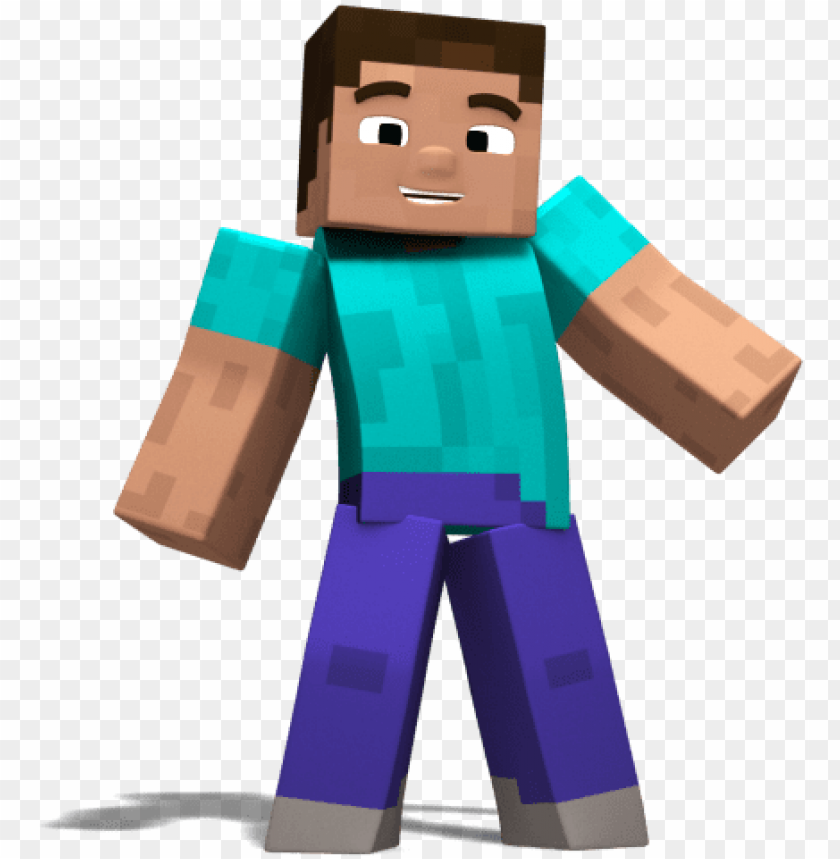 Steve 1 Steve Minecraft Png Image With Transparent Background