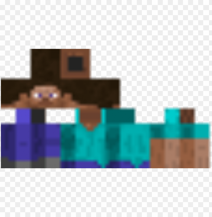 Steve Minecraft Pe Herobrine Ski Png Image With Transparent