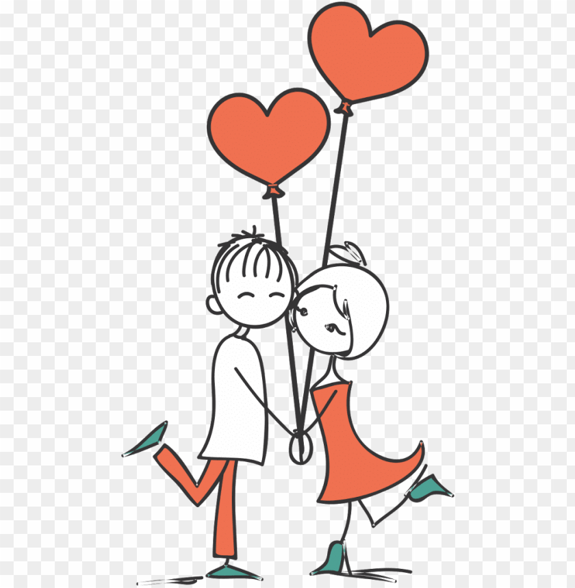 free PNG stick figure couple png clipart stock - casal desenho PNG image with transparent background PNG images transparent