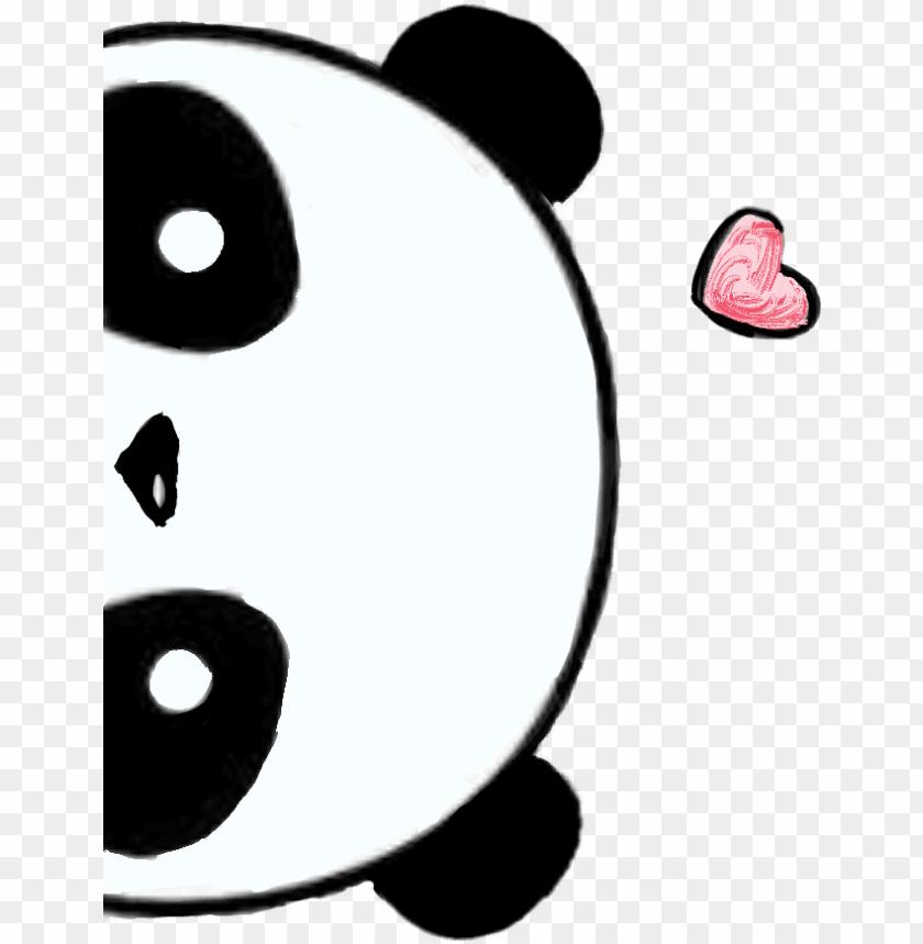Sticker By Sara Dibujos De Pandas Kawaii Png Image With