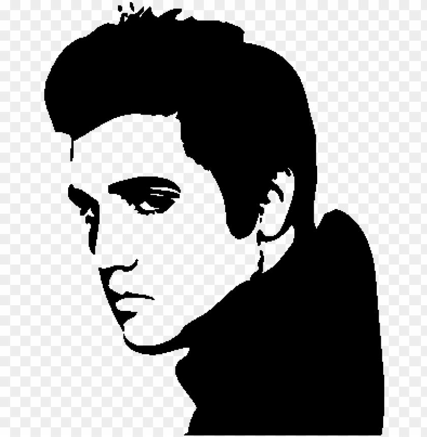 Stickers Elvis Presley Ambiance Sticker Star 011 Pixel Art